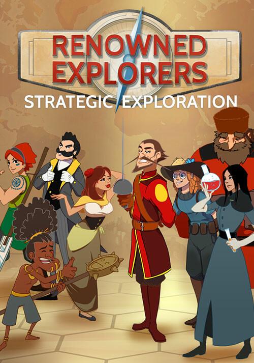Renowned Explorers: International Society - Cover / Packshot