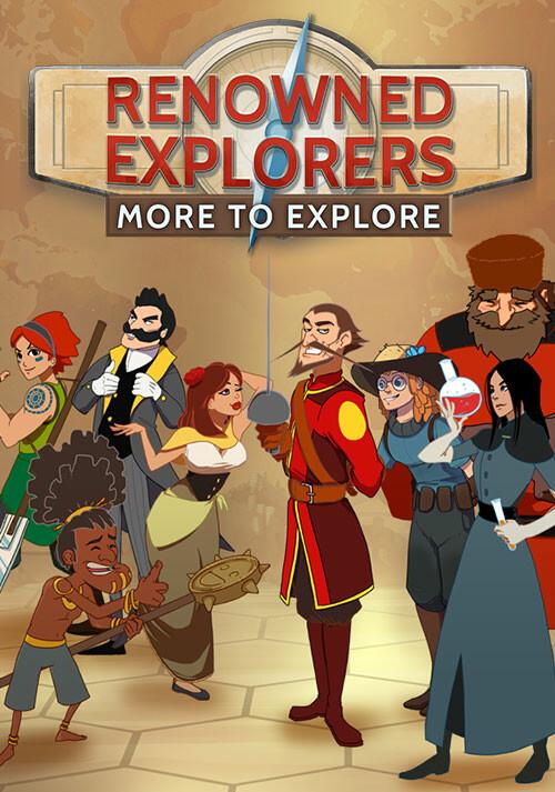 Renowned Explorers: More To Explore - Cover / Packshot
