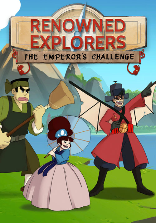 Renowned Explorers: The Emperor's Challenge - Cover / Packshot