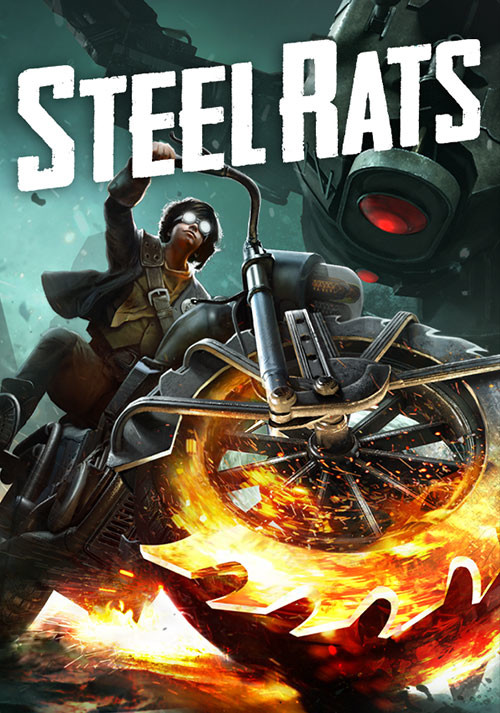 Steel Rats - Cover / Packshot