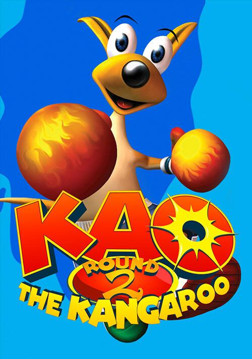 Kao the Kangaroo: Round 2 - Cover / Packshot