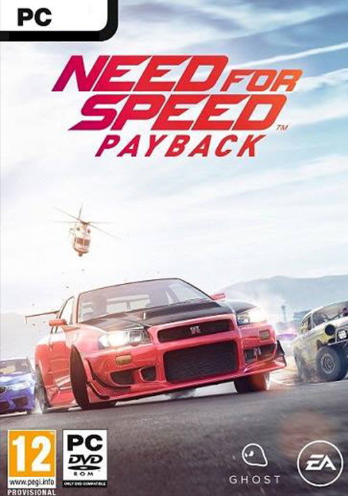 Need for Speed Payback - Cover / Packshot