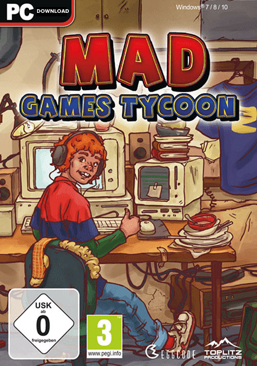 Mad Games Tycoon - Cover / Packshot