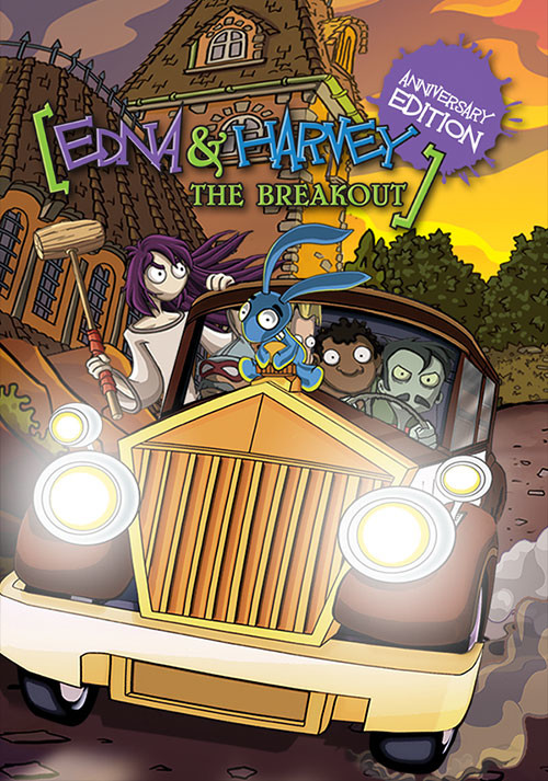 Edna & Harvey: The Breakout - Anniversary Edition - Cover / Packshot