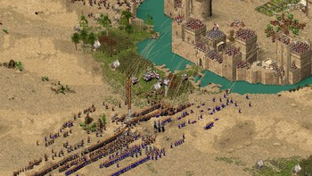 Screenshot1 - Stronghold Crusader HD