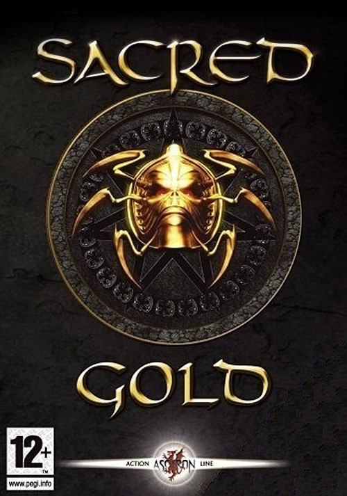 Sacred Gold - Cover / Packshot
