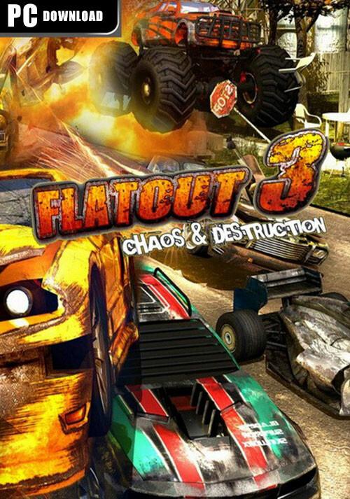 Flatout 3: Chaos & Destruction - Cover / Packshot