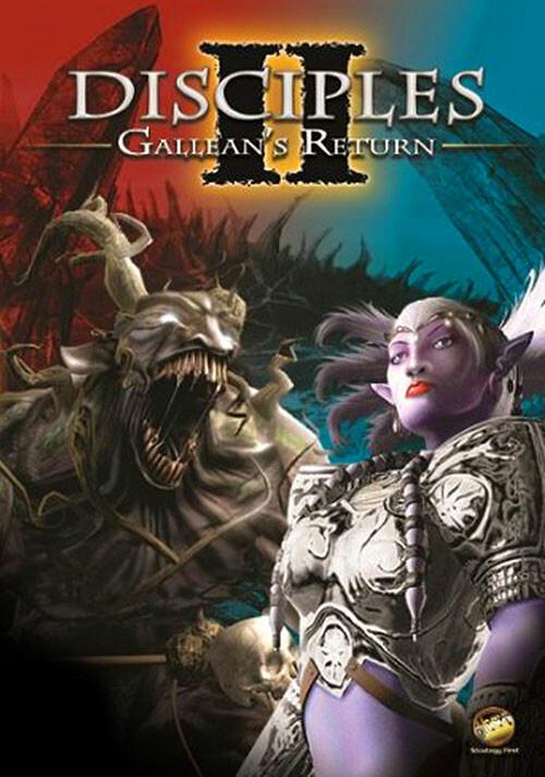 Disciples II: Gallean's Return - Cover / Packshot