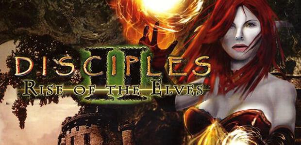 Disciples II: Rise of the Elves - Cover / Packshot