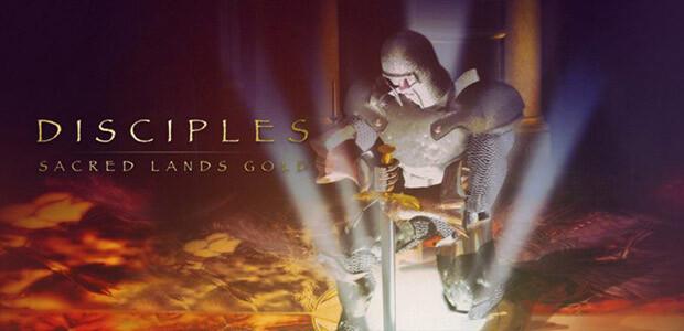 Disciples Sacred Lands Gold - Cover / Packshot