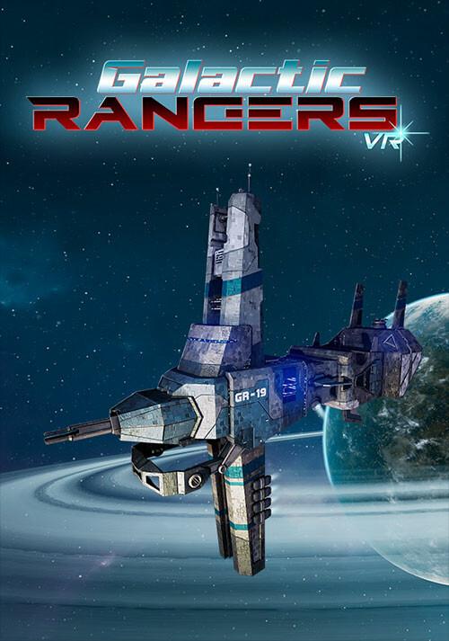 Galactic Rangers VR - Cover / Packshot