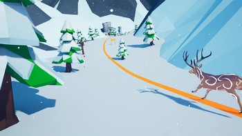 Screenshot1 - Let's Go! Skiing VR
