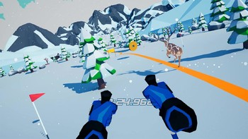 Screenshot3 - Let's Go! Skiing VR