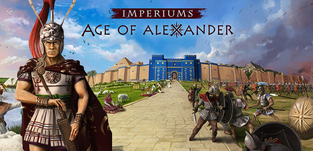 Imperiums: Age of Alexander - Cover / Packshot