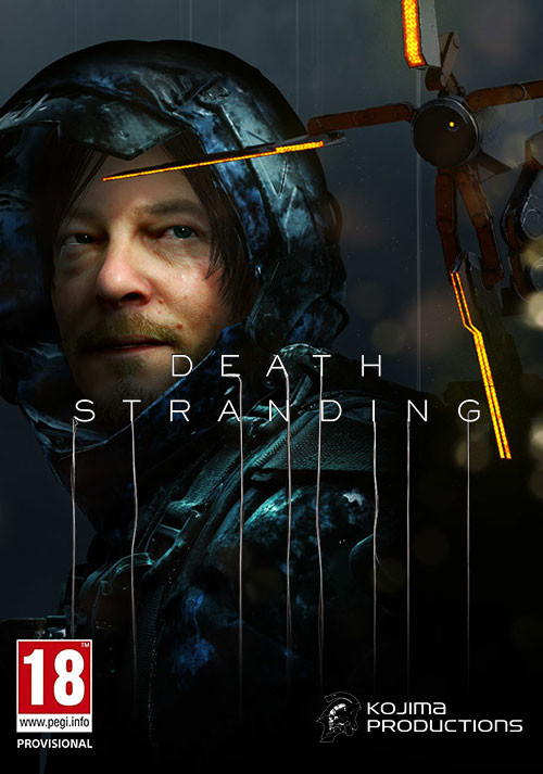 Death Stranding - Cover / Packshot