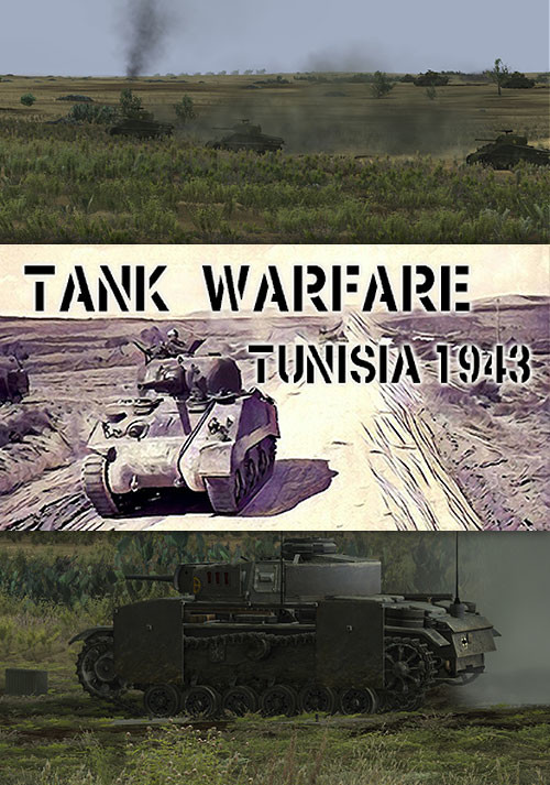 Tank Warfare: Tunisia 1943 - Cover / Packshot