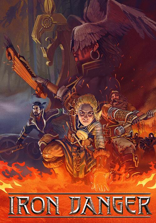 Iron Danger - Cover / Packshot