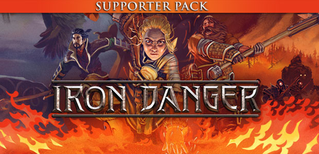 Iron Danger - Supporter Pack - Cover / Packshot