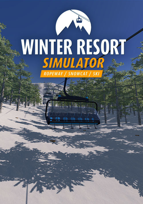 Winter Resort Simulator - Cover / Packshot
