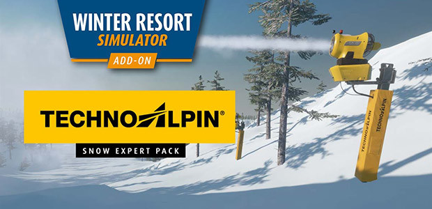 Winter Resort Simulator - TechnoAlpin - Snow Expert Pack