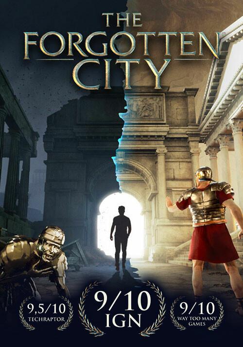 The Forgotten City - Cover / Packshot