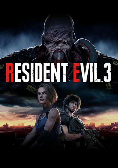 RESIDENT EVIL 3 - Cover / Packshot