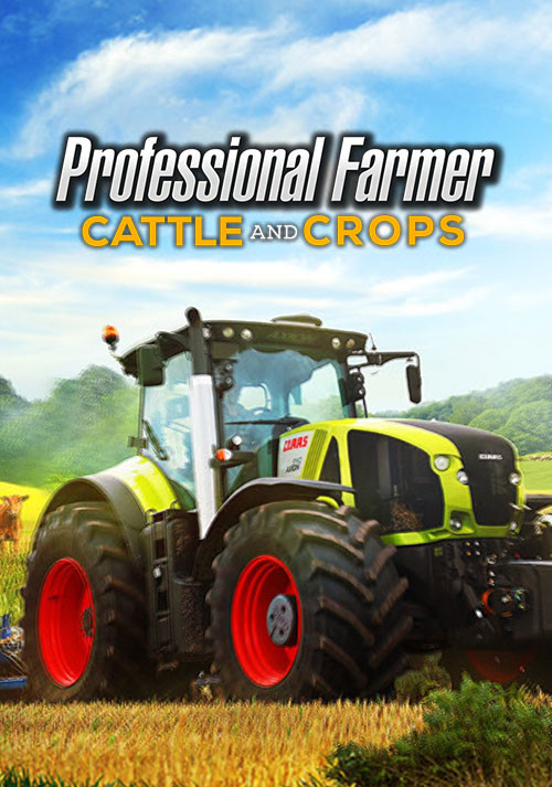 Professional Farmer: Cattle and Crops - Cover / Packshot