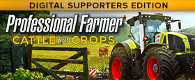Professional Farmer: Cattle and Crops - Digital Supporters Edition