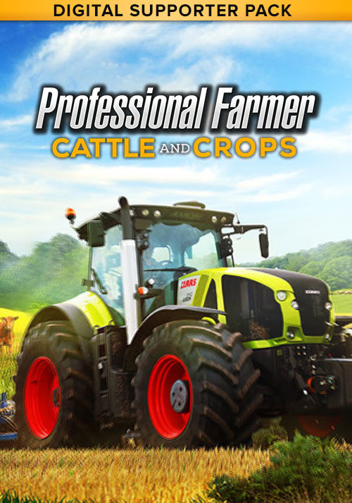 Professional Farmer: Cattle and Crops - Digital Supporter Pack - Cover / Packshot