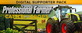 Professional Farmer: Cattle and Crops - Digital Supporter Pack