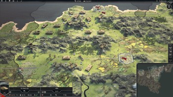 Screenshot1 - Panzer Corps 2 - Field Marshal Edition