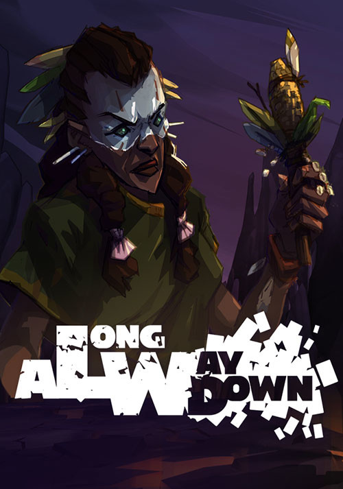 A Long Way Down - Cover / Packshot