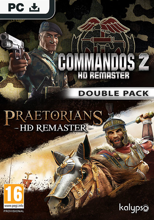 Commandos 2 & Praetorians: HD Remaster Double Pack - Cover / Packshot