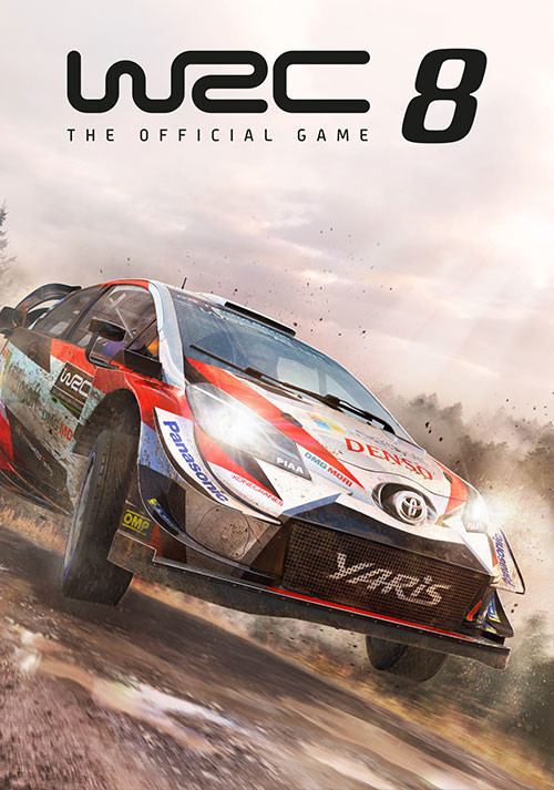 WRC 8 FIA World Rally Championship - Cover / Packshot