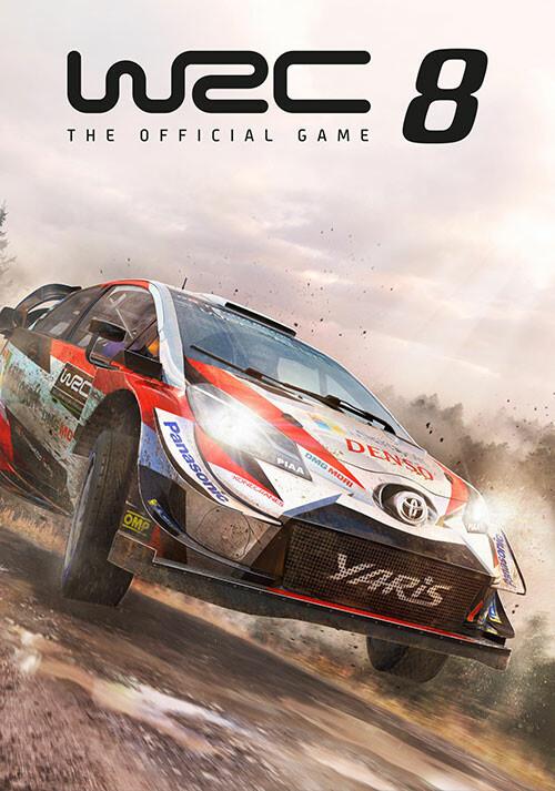 WRC 8 FIA World Rally Championship - Cover / Packshot