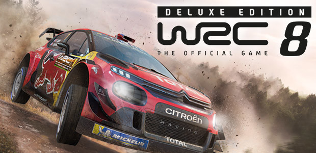WRC 8 Deluxe Edition FIA World Rally Championship - Cover / Packshot