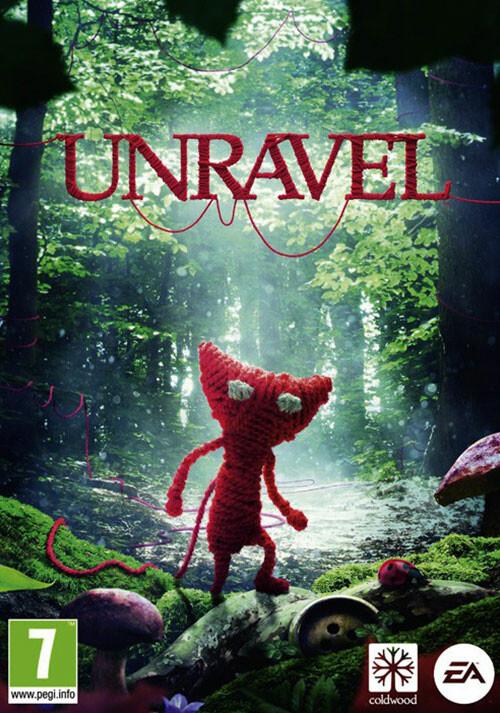 Unravel - Cover / Packshot