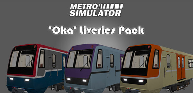 Metro Simulator - 'Oka' Liveries Pack - Cover / Packshot
