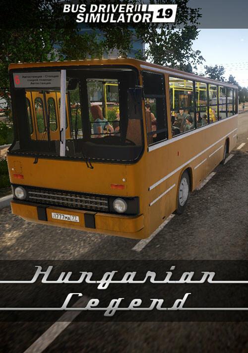 Bus Driver Simulator 2019 - Hungarian Legend - Cover / Packshot