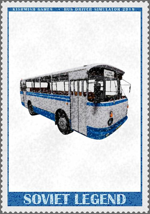 Bus Driver Simulator 2019 - Soviet Legend - Cover / Packshot