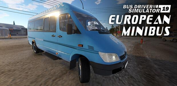 Bus Driver Simulator 2019 - European Minibus - Cover / Packshot