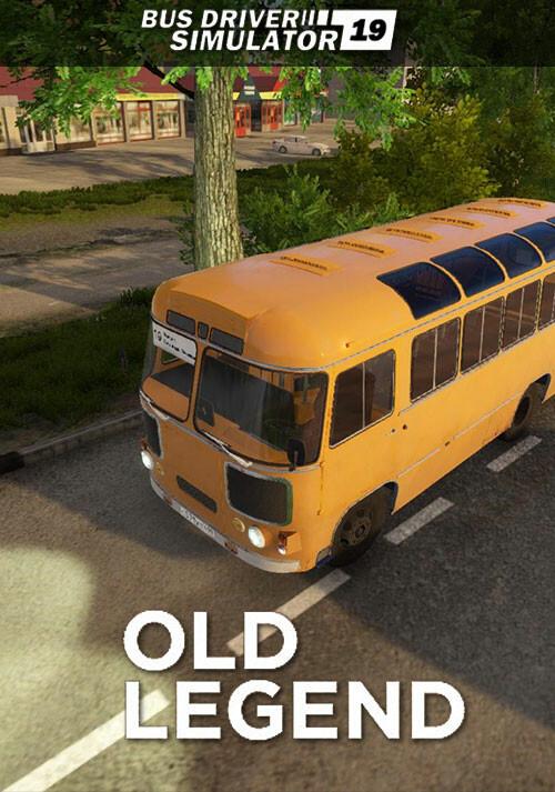 Bus Driver Simulator 2019 - Old Legend - Cover / Packshot