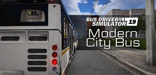 Bus Driver Simulator - Modern City Bus - Cover / Packshot