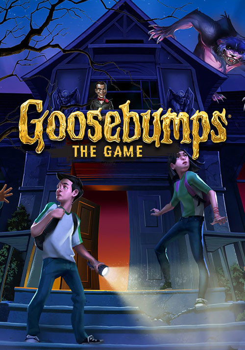 Goosebumps: The Game - Cover / Packshot