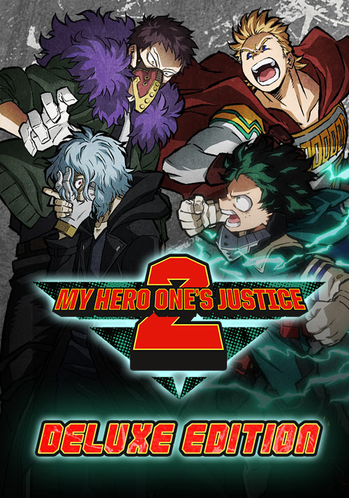 My Hero One's Justice 2 - Deluxe Edition - Cover / Packshot