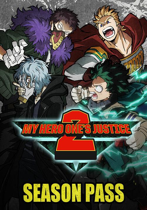 My Hero One's Justice 2 - Season Pass - Cover / Packshot