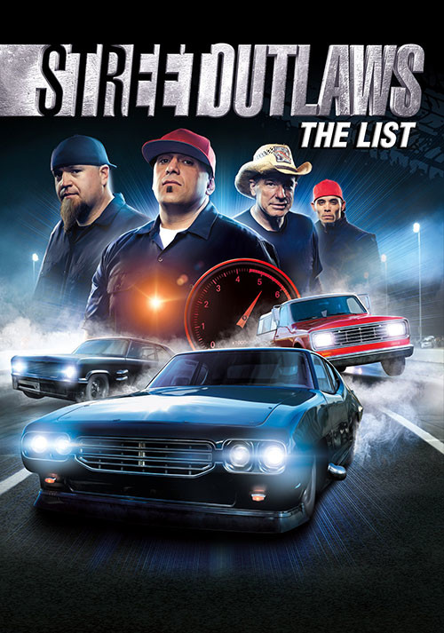 Street Outlaws: The List - Cover / Packshot
