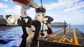 Screenshot8 - Azur Lane: Crosswave