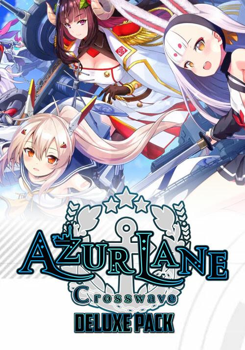 Azur Lane: Crosswave Deluxe Pack - Cover / Packshot