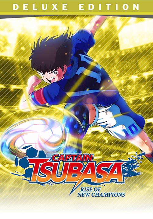 Captain Tsubasa: Rise of New Champions - Deluxe Edition - Cover / Packshot